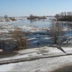 В реках Стерлитамака снижается уровень воды