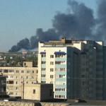 Утром в Стерлитамаке загорелась квартира