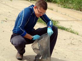 С начала субботников в Стерлитамаке вывезли 77,5 тонны мусора