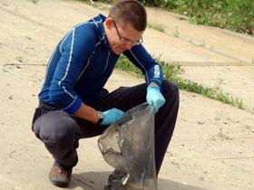 В Стерлитамаке на субботнике собрали 105 тонн мусора