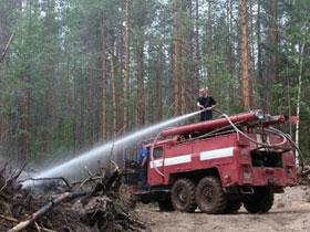 В Башкирии прошли учения по тушению лесных пожаров