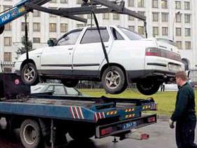 В Башкирии установлена плата за перемещение автомобилей на штрафстоянку