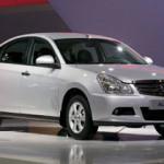 Nissan Almera остался в лидерах продаж марки в январе-марте 2015 года
