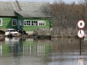 Уровень реки Стерля увеличился на 64 см