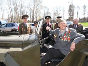 В Стерлитамаке прошел автопробег в честь Дня Победы