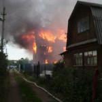 В Башкирии при пожаре погибли три человека