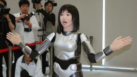 В Японии представлен первый в мире робот – диктор новостей
