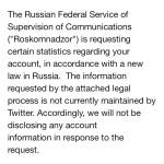 Роскомнадзор проверит Twitter Ксении Собчак на соответствие закону о блогерах