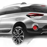 Hyundai покажет кроссовер на базе хетчбека i20