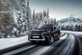 В России стартовал прием заказов на обновленный Lexus LX
