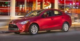 Новый Toyota Yaris Sedan 2016 появился в Канаде