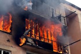 В Башкирии во время пожара погибла школьница