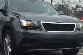В Интернет попали шпионские фото нового кроссовера от Volkswagen