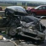 В Башкирии произошло ДТП с участием четырех автомобилей