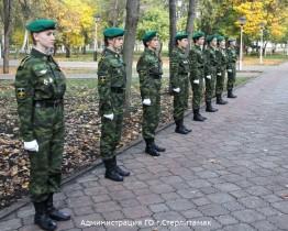 В Стерлитамаке появился памятник пограничникам