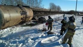 В Башкирии произошло столкновение двух поездов