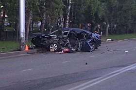 Смертельное ДТП: В Стерлитамаке молодой водитель влетел в электроопору