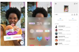 В Instagram Stories появились опросы